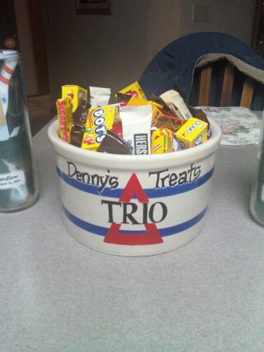Candy dish for Trio